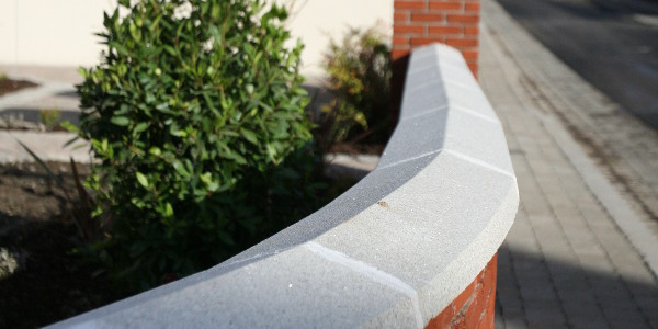 Reconstituted Granite Wall Caps